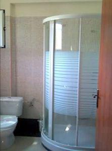 nikiti living interior2 222x300 - Νικήτη Δίκλινα Δωμάτια